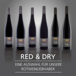 RED & DRY - SIXPACK