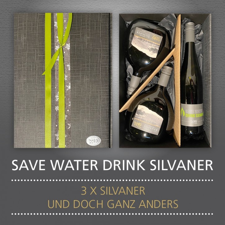Präsent - SAVE WATER DRINK SILVANER