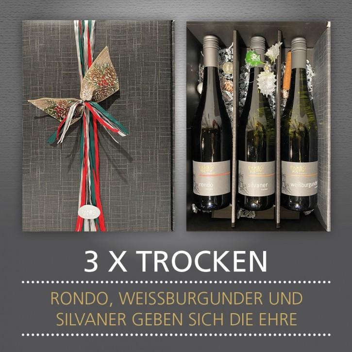 Präsent - 3 x TROCKEN
