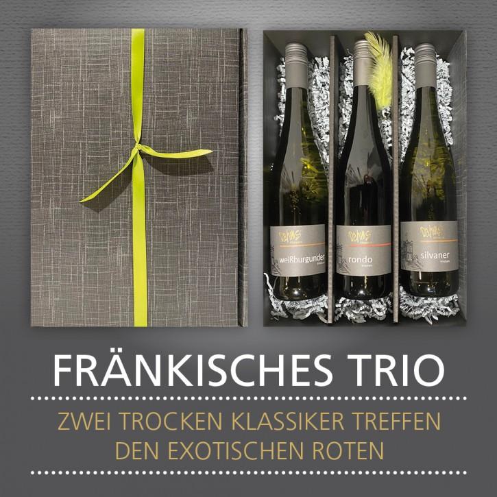 Weinpräsent - FRÄNKISCHES TRIO