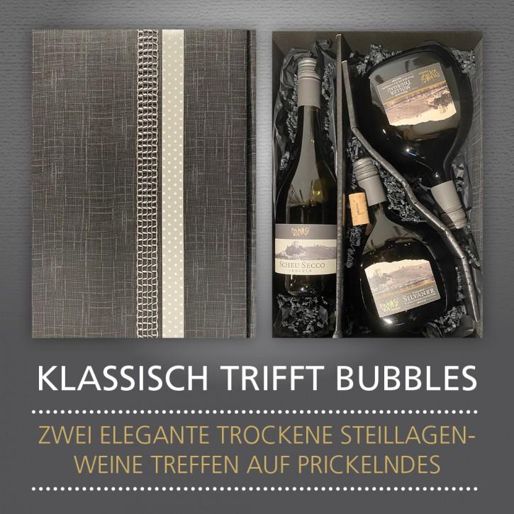 Weinpräsent - KLASSISCH TRIFFT BUBBLES
