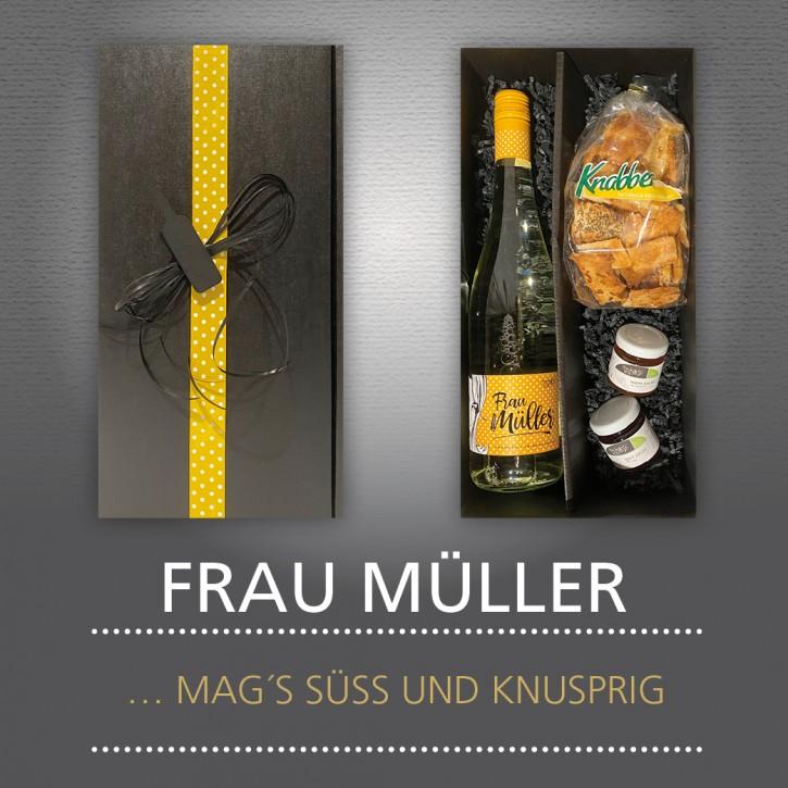 Weinpräsent - FRAU MÜLLER