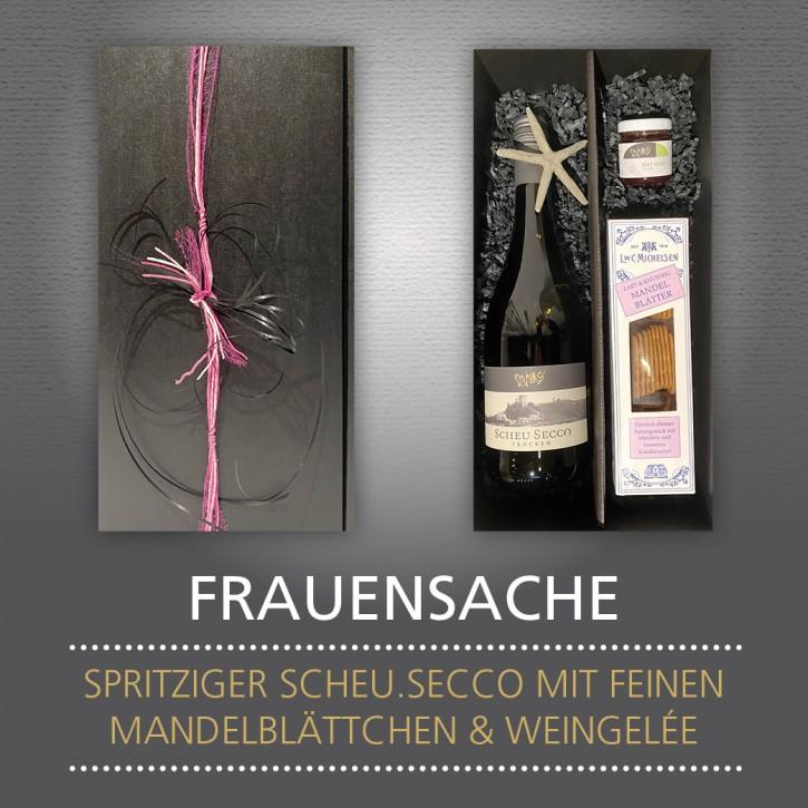 Weinpräsent - FRAUENSACHE