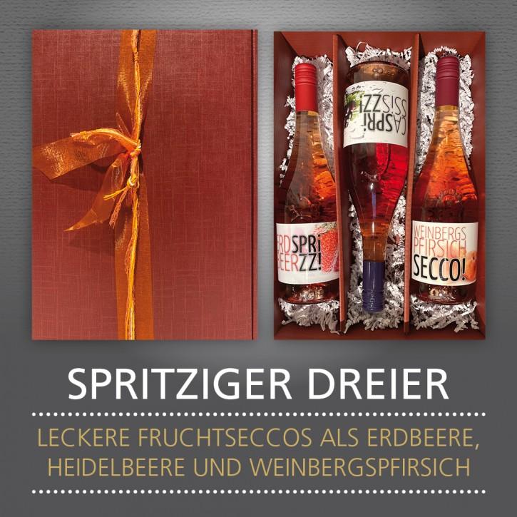 Weinpräsent - SPRITZIGER DREIER