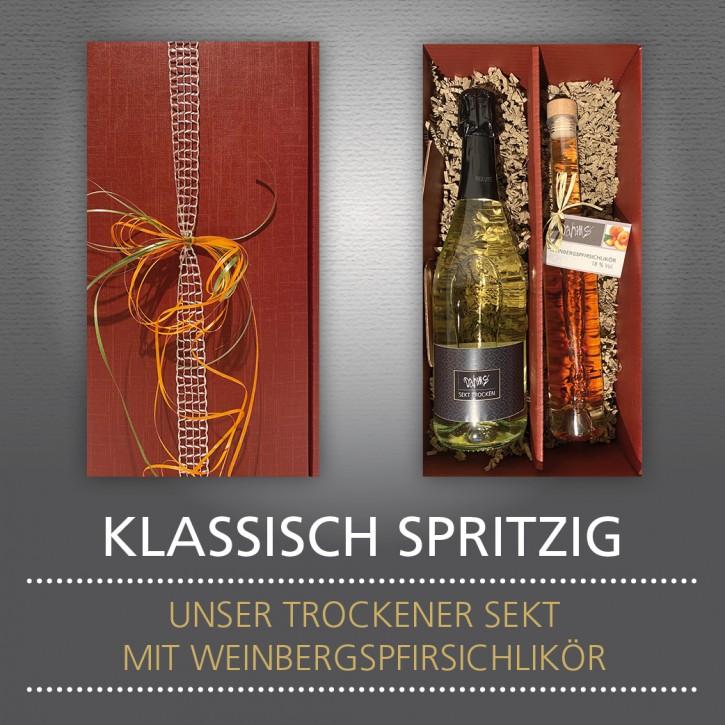 Weinpräsent - KLASSISCH SPRITZIG