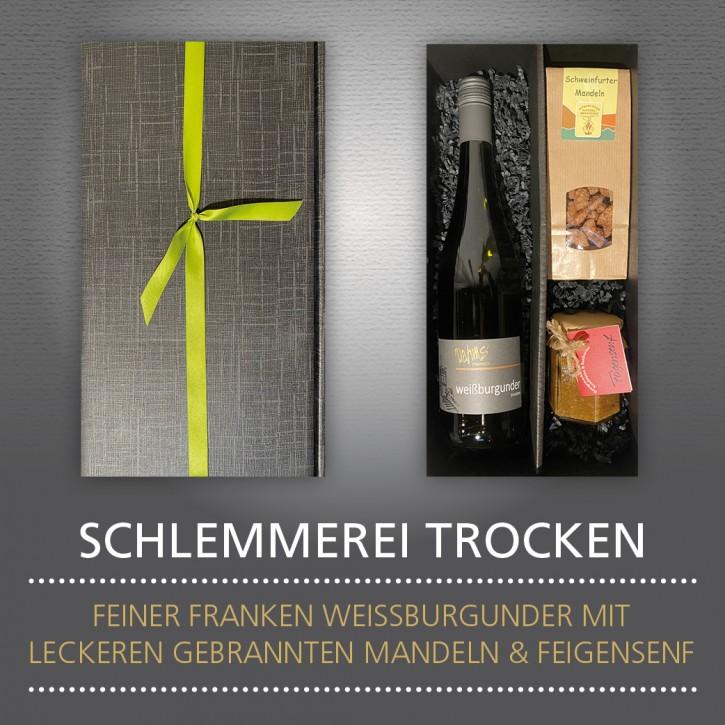 Weinpräsent - SCHLEMMEREI TROCKEN