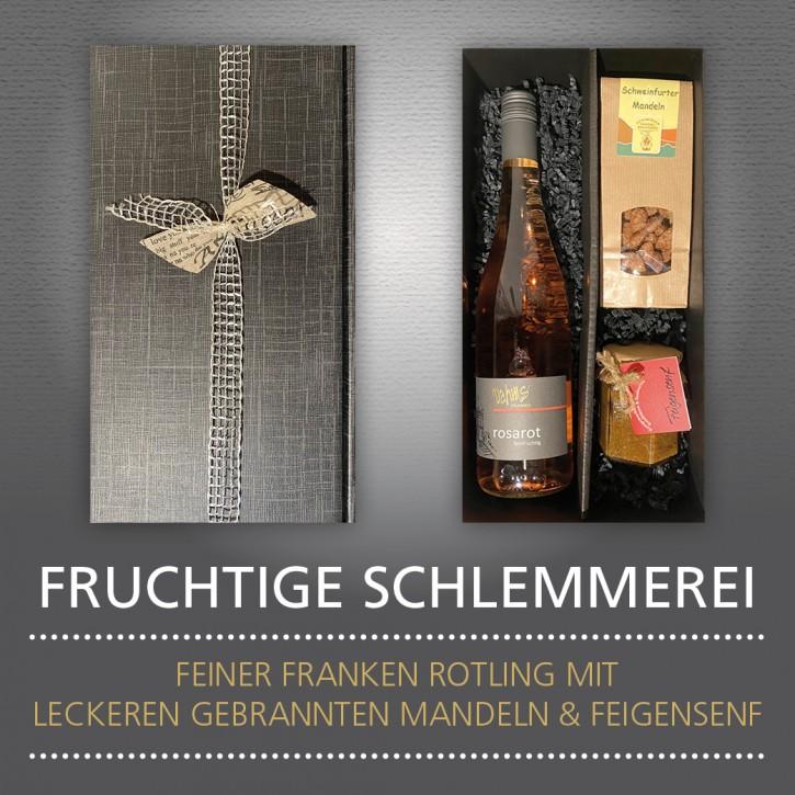Weinpräsent - FRUCHTIGE SCHLEMMEREI