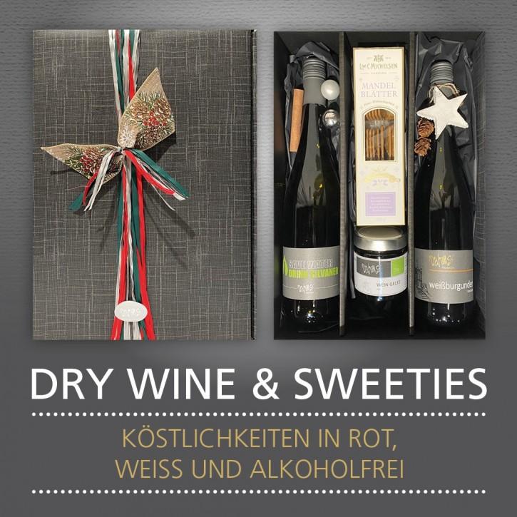 Präsent - DRY WINE & SWEETIES