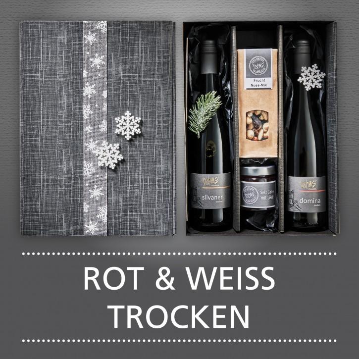 Weinpräsent - ROT&WEISS trocken
