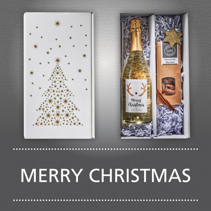 Weinpräsent - MERRY CHRISTMAS