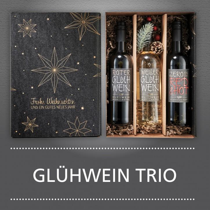 Weinpräsent - Glühwein Trio